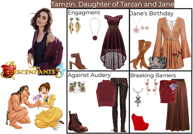 Tamzin. Daughter of Tarzan and Jane. Descendants 3