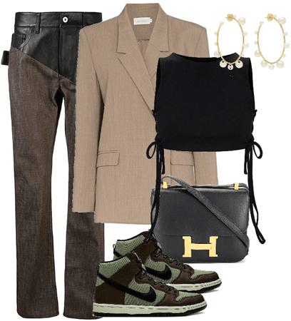 brown stylish