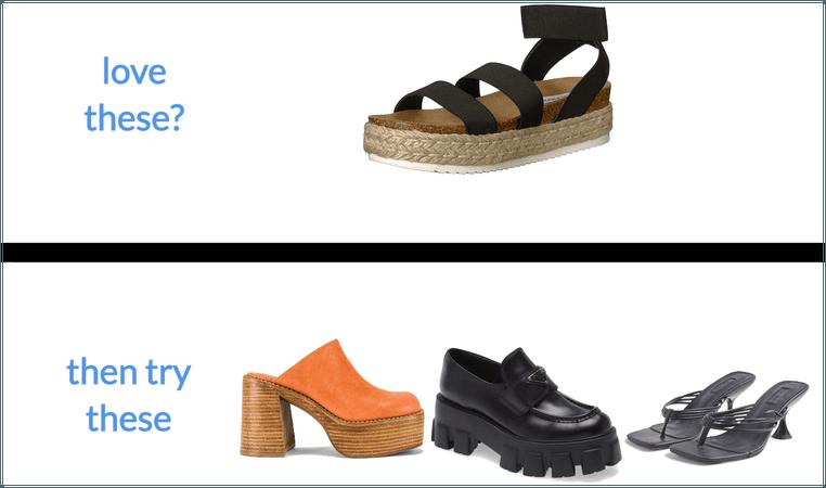 Closet Change: Platform/Low Heel Shoes