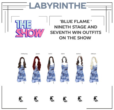 LABYRINTHE BLUE FLAME NINYH STAGE