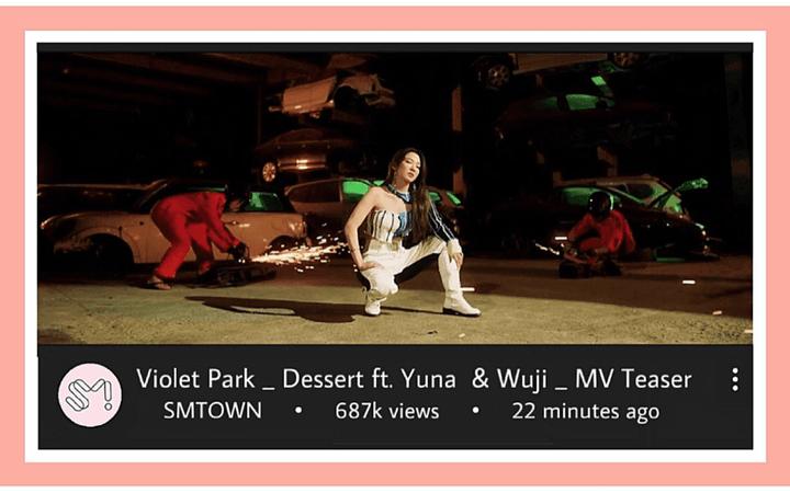 VioletPark _ Dessert ft. Yuna & Wuji _ MV Teaser