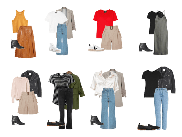 spring capsule outfits - 8- 5