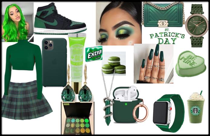 St. Patricks day look