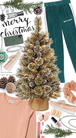 Peach and Pine Christmas