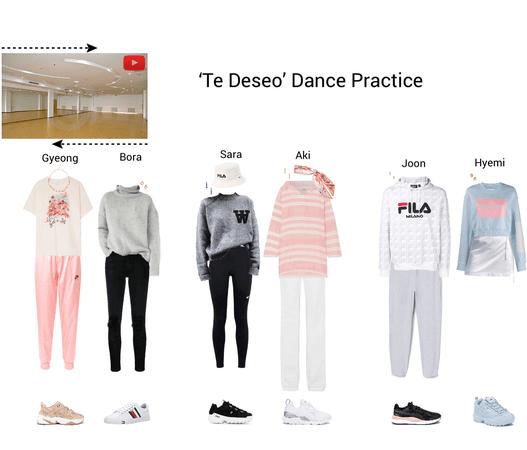 Lynx//Te Deseo Dance Practice