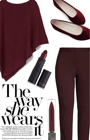 maroon casual