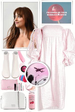 Pink bubblegum!