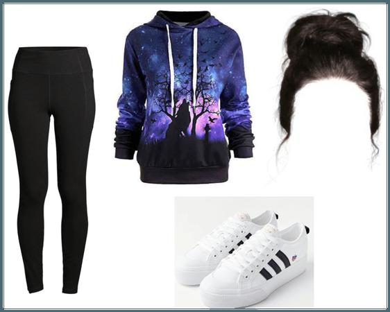 School Hoodie Outfit