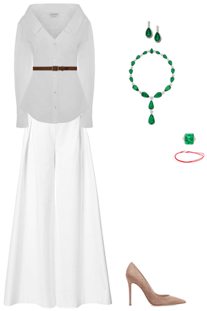 The Classic Emerald look
