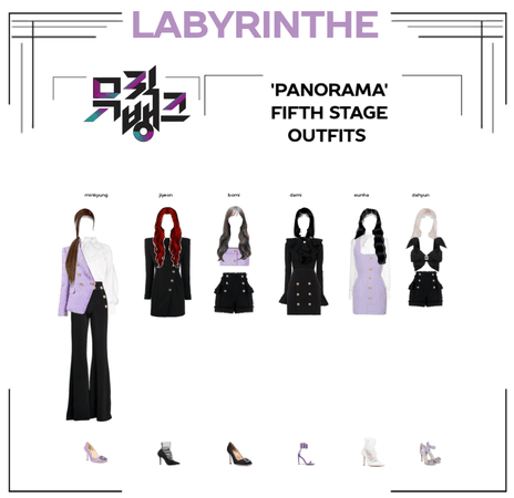 LABYRINTHE PANORAMA 5th stage outfits