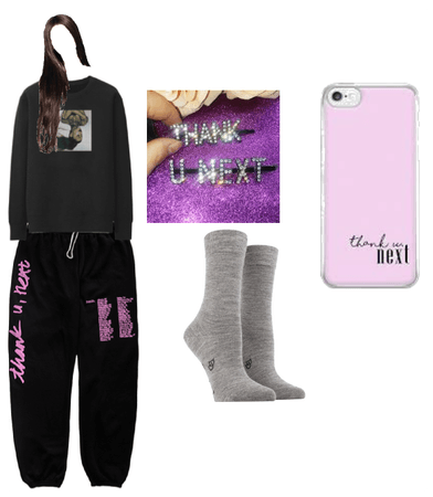 ariana grande stay at home outfit