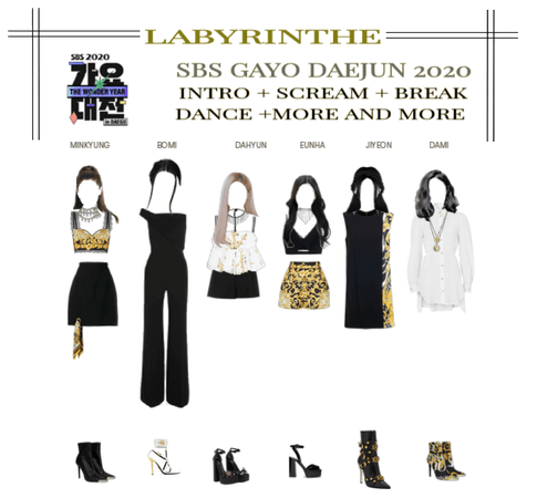 LABYRINTHE SBS GAYO DAEJUN 2020 PERFORMANCE
