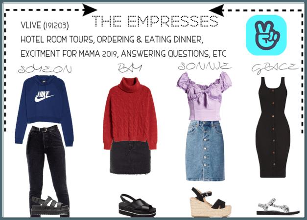 [THE EMPRESSES] V APP: ROOM TOURS, DINNER, ETC