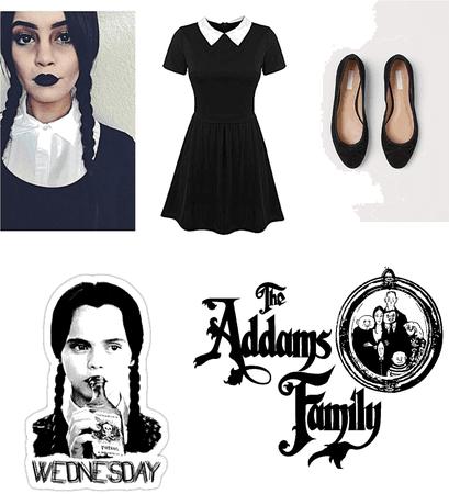 Wednesday Addams DisneyBounding