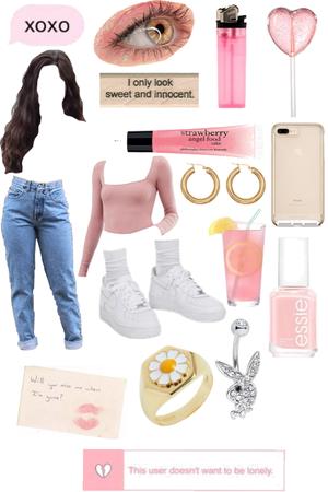 girly pink