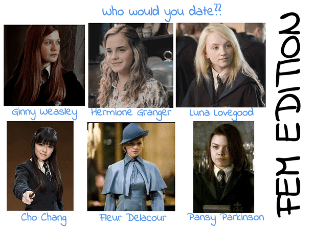 Who Would You Date?? (Fem Edition)