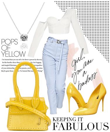 Pops of Yellow