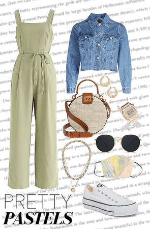 outfit pretty pastels