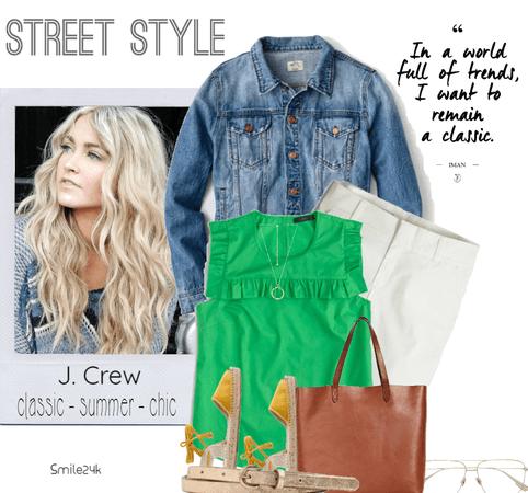 J. Crew Summer Chic