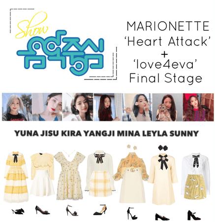 {MARIONETTE} Show! Music Core Final Stage 'Heart Attack' + 'love4eva'