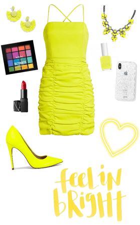 Neon Yellow Look