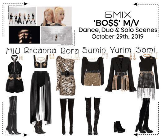 《6mix》'BO$$' Music Video