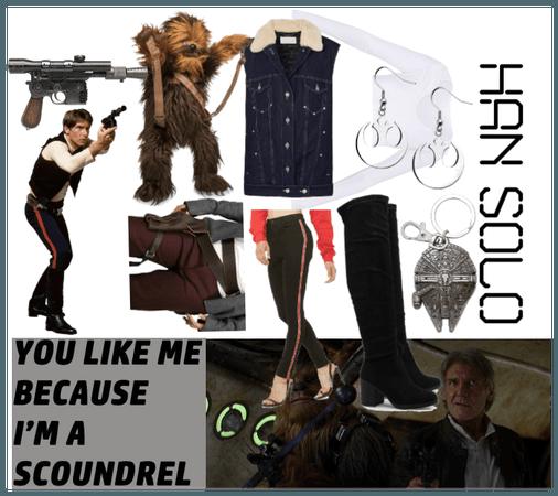 Han Solo Disneybound