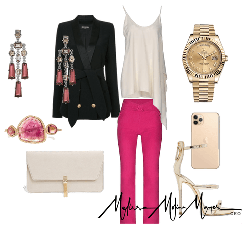Glam in Pink & Cream