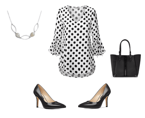 Black and White Work Outfit