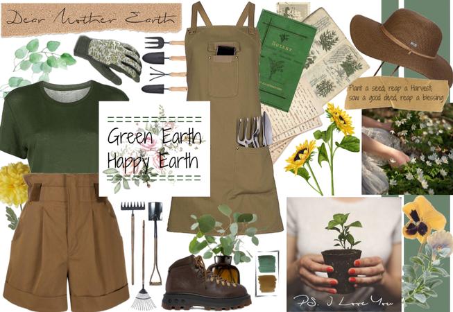 Green Earth Happy Earth