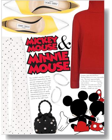 modern mickie & minnie ❤️