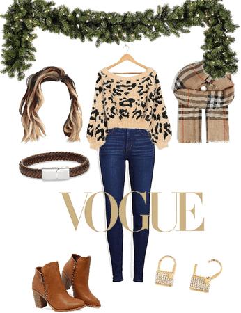 Warm stylish winter