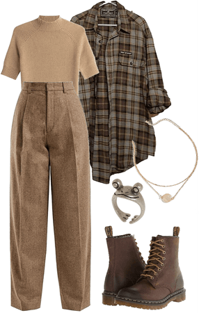 Brown Monochromatic Indie