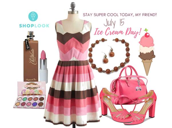 Ice Cream Day Dress