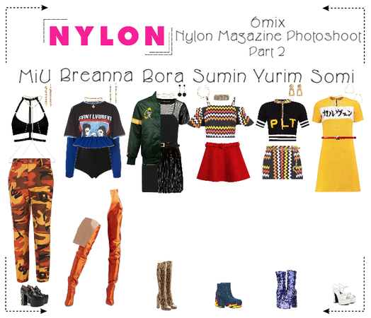 《6mix》Nylon Magazine Photoshoot (Part 2)