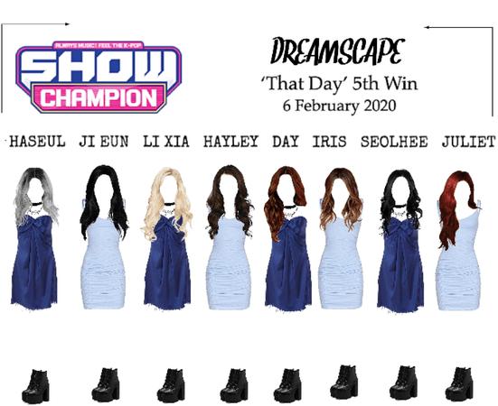DREAMSCAPE [드림스게이프] Show Champion 200206