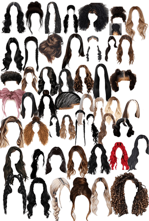 there's a lot of good hair style still waiting for you