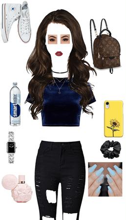 basic pretty girl