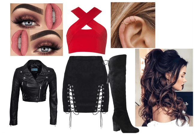 Shadowhunters Isabelle Lightwood Inspired Outfit