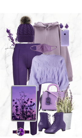 Shades of Purple and Lavender