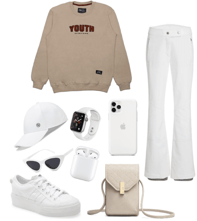 ALL WHITE OUTFIT