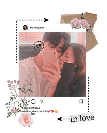 Miyeon instagram post (my boyfriend, Byungchan) 2020. 08. 15