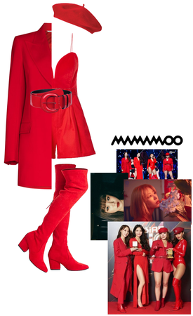 Wheein outfit in MAMA 2019