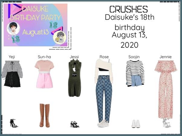 Crushes (호감) at Daisuke's 18 Birthday Party