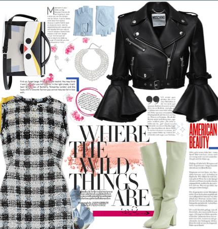 Tweed & Leather.