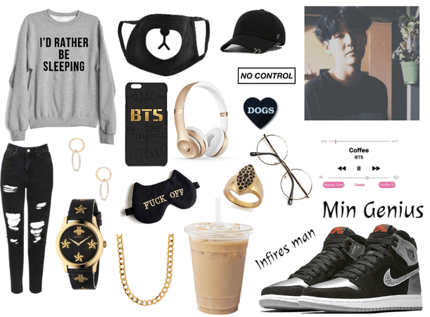 Min Yoongi inspired outfit