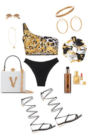 Versace beach vibes