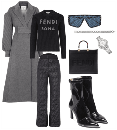 Complete Fendi Outfit