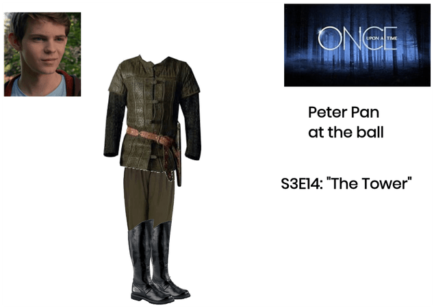 """OUAT: Peter Pan: Flashback: S3E14: """"The Tower"""""""
