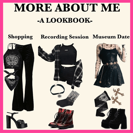 MORE ABOUT ME: A Lookbook